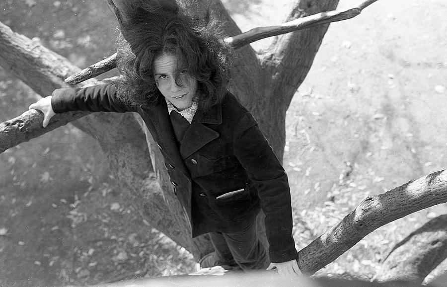 A Woman in a Tree, 1972 by Jeremy Butler