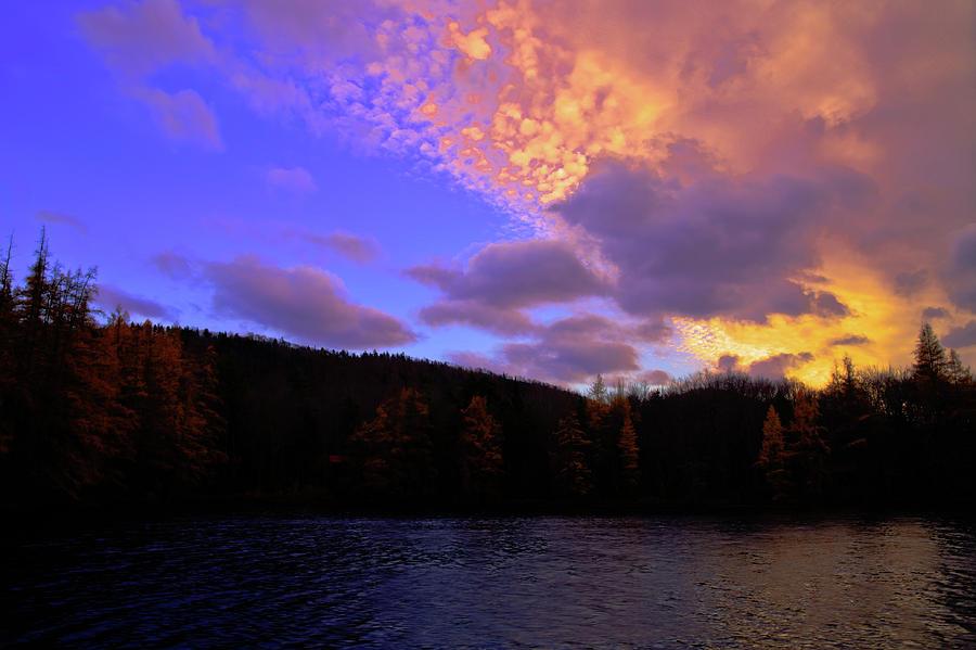 A Woodcraft Sunset by David Patterson