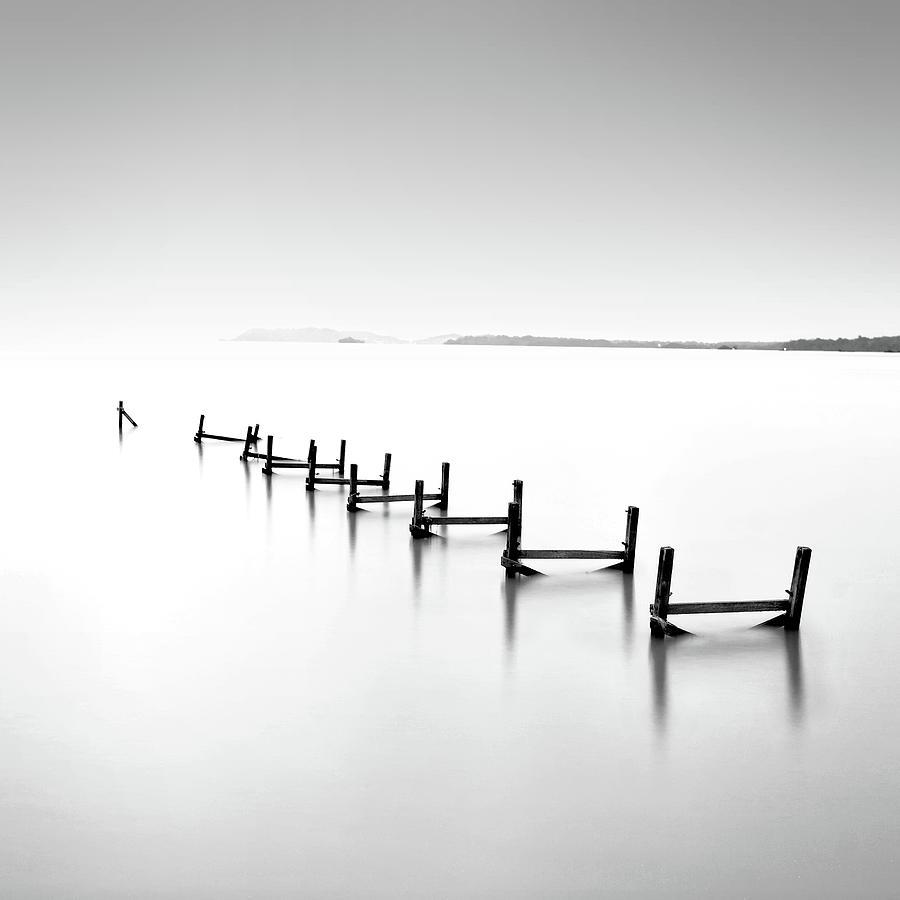 Abandond Jetty Photograph by Photography By Azrudin