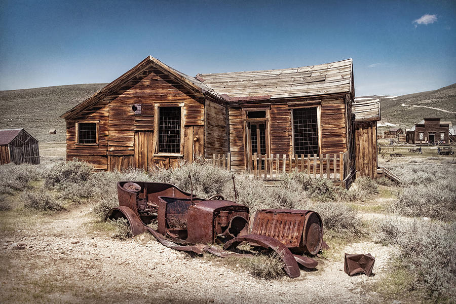Abandoned at Bodie by Carolyn Derstine