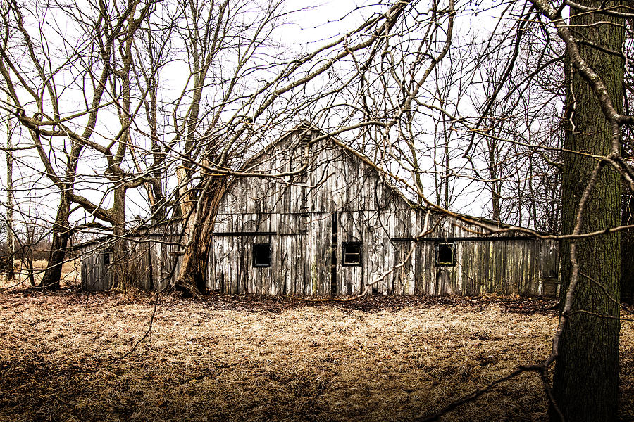Abandoned Barn Highway 6 V3 by Michael Arend