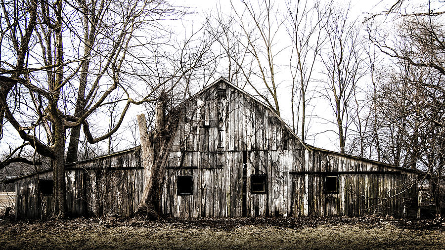 Abandoned Barn Highway 6 V5 by Michael Arend