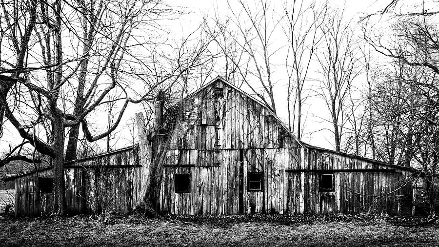 Abandoned Barn Highway 6 V6 by Michael Arend