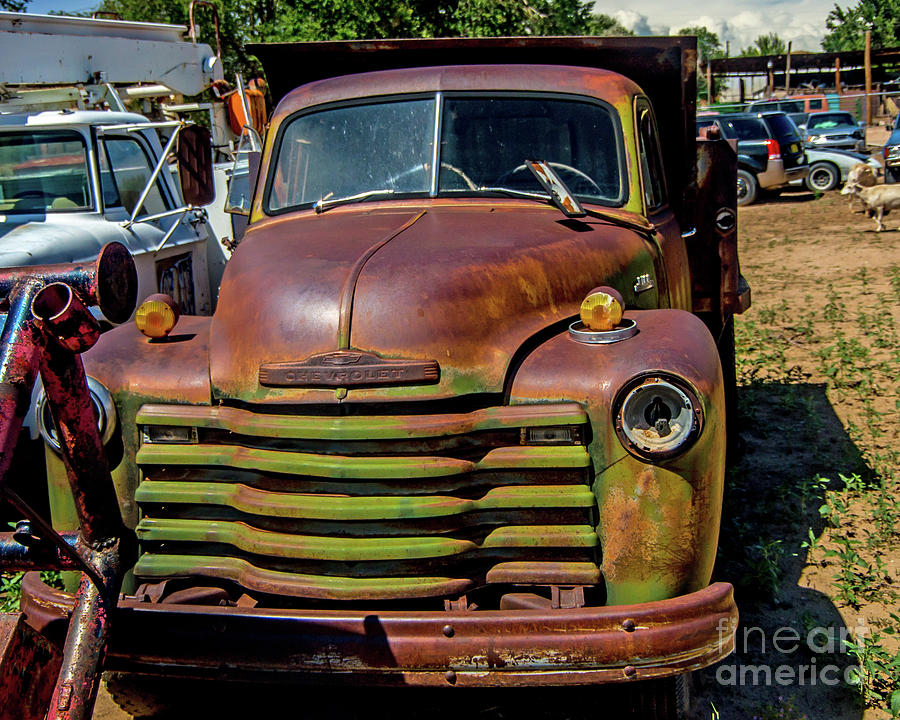 Abandoned Chevy Photograph By Stephen Whalen