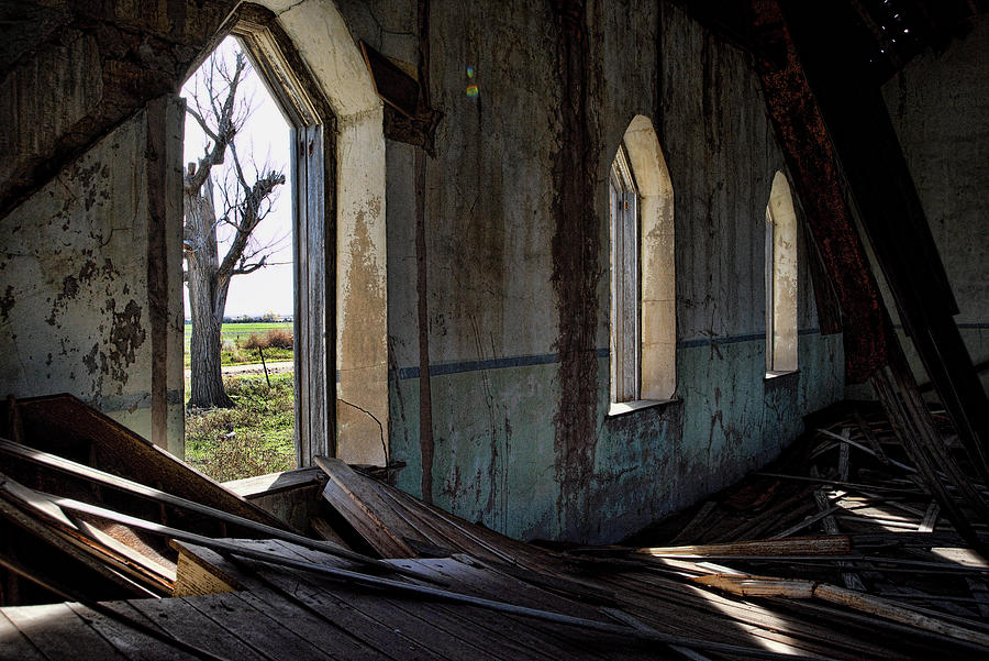 Abandoned Church #2 by Ron Weathers