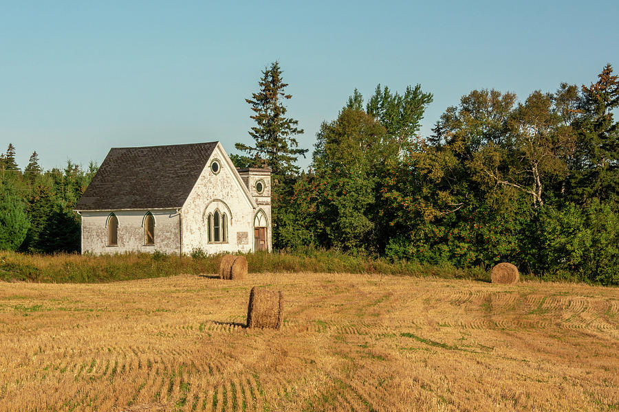 Abandoned Church at Wheatly River Prince Edward Island by Douglas Wielfaert