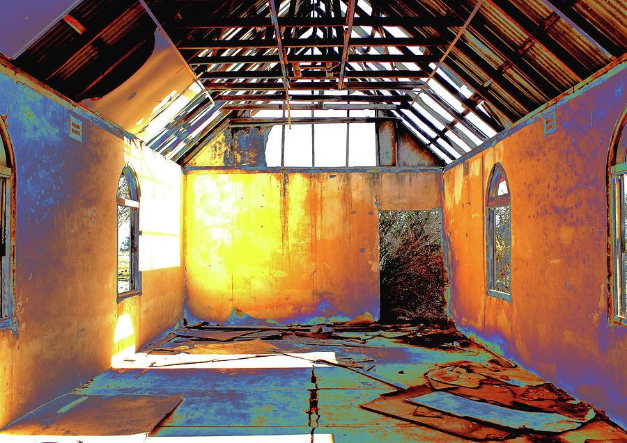 Abandoned Church by Elizabeth Anne