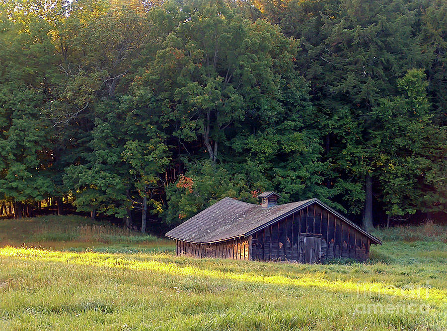 Abandoned Hay Barn at Sunrise by Kevin McCarthy