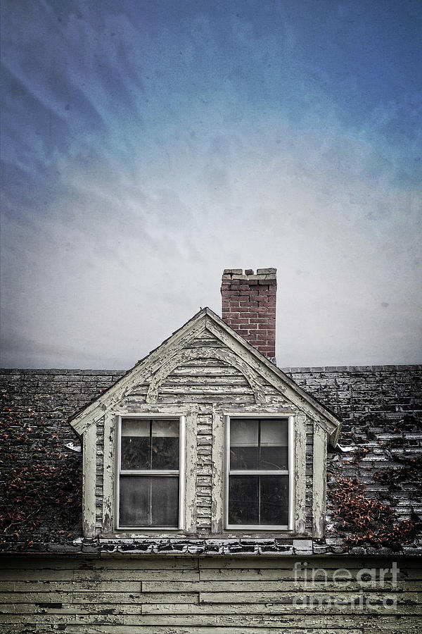 House Photograph - Abandoned House by Edward Fielding