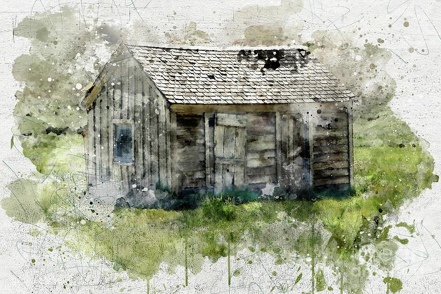 Abandoned House by Mark Jackson