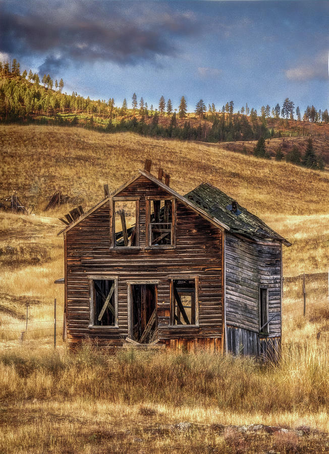 Abandoned Montana #2 by David Heilman