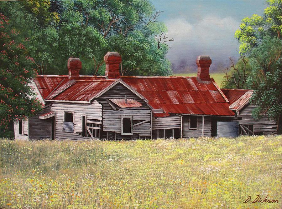 Abandoned old farmhouse 2 by Debra Dickson