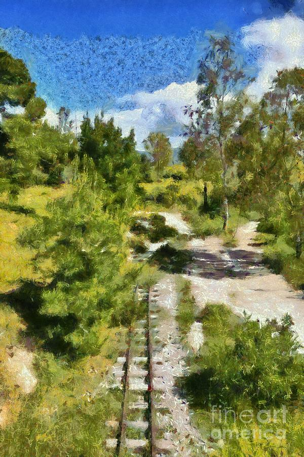 Abandoned railway lines  by George Atsametakis