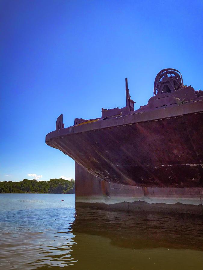 Abandoned Ship Photograph - Abandoned Ship by Lora J Wilson