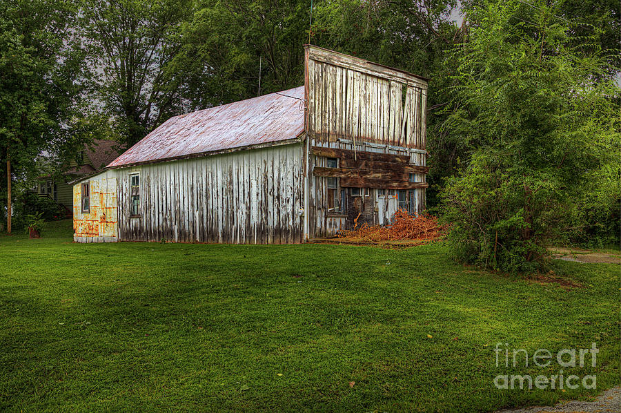 Travel Photograph - Abandoned Shop by Larry Braun