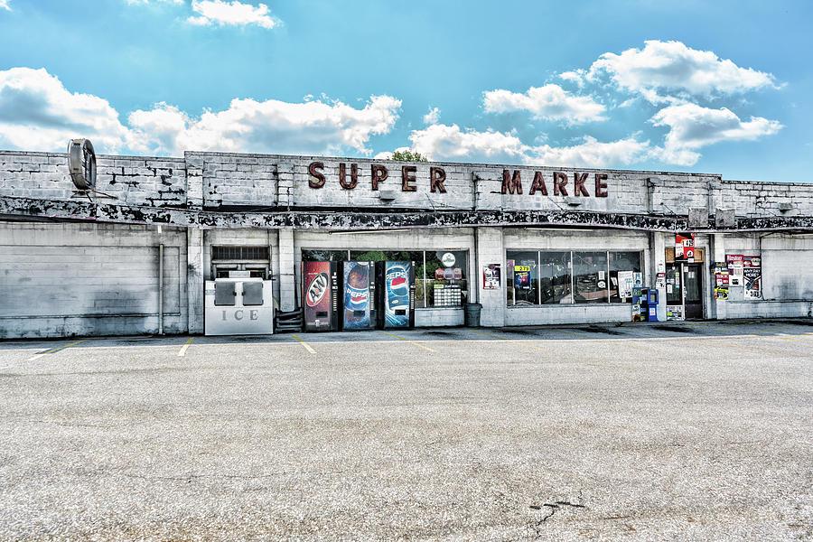 Abandoned Super Market by Sharon Popek