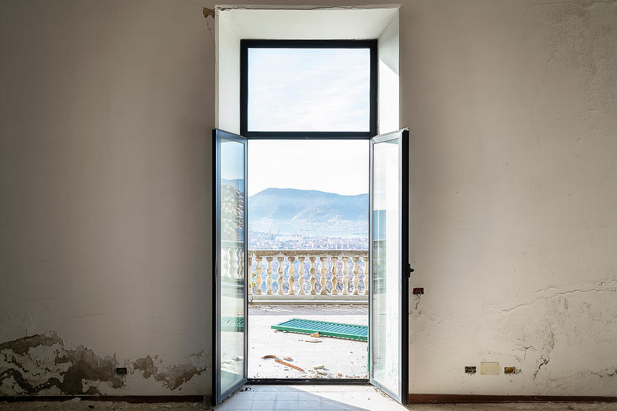 Abandoned Villa with Beautiful View by Roman Robroek
