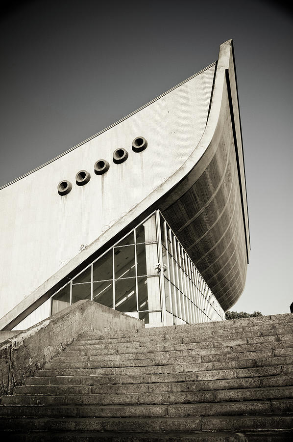 Abandoned Vilnius Sport Hall Photograph by Itchysan