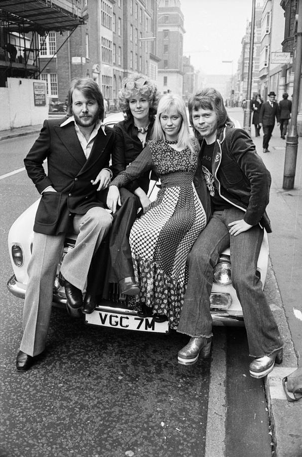 Abba Posing Photograph by Terry Disney