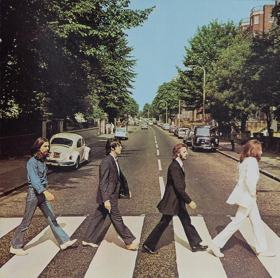 The Beatles Photograph - Abby Road by Robert VanDerWal