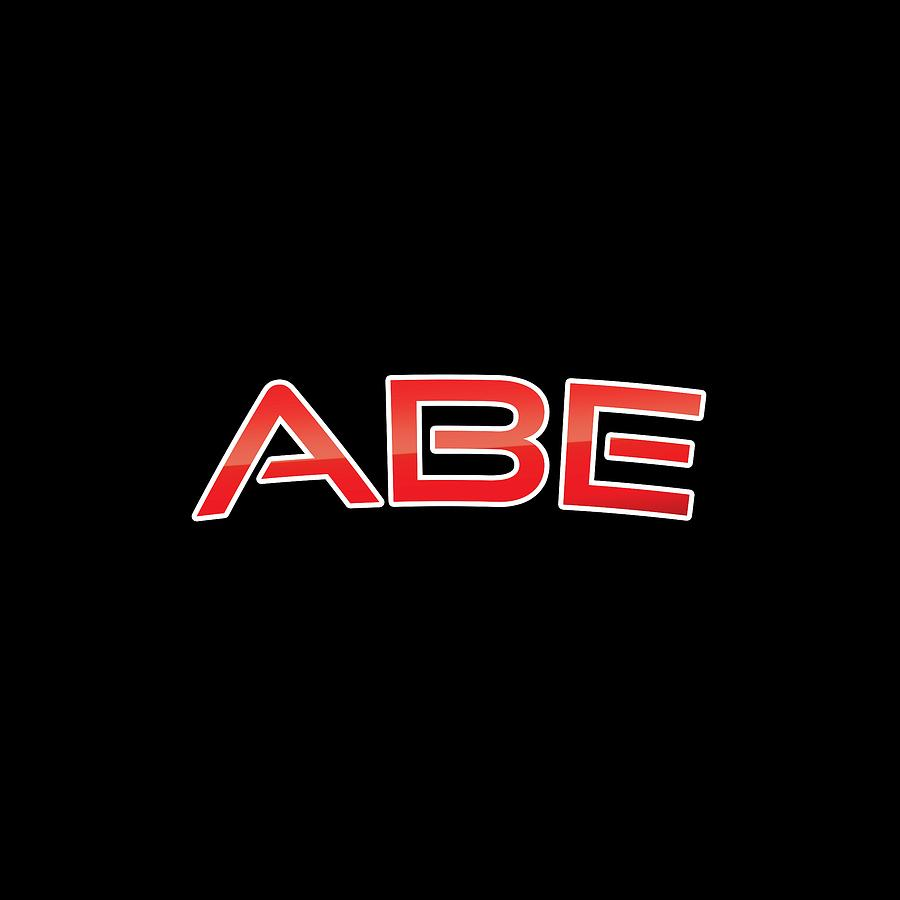 Abe Digital Art - Abe by TintoDesigns