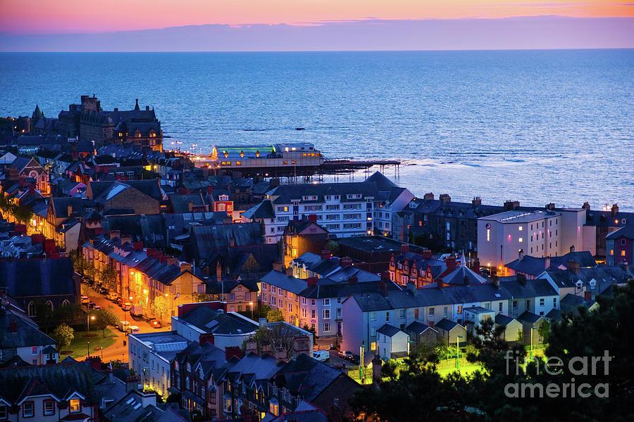 Aberystwyth at Night by Keith Morris