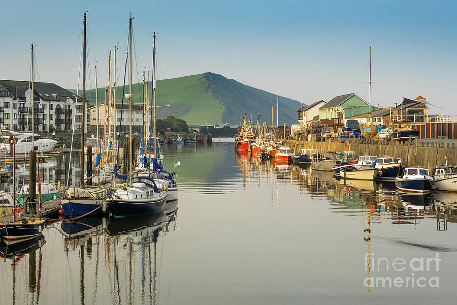 Europe Photograph - Aberystwyth Marina At Daybreak by Keith Morris