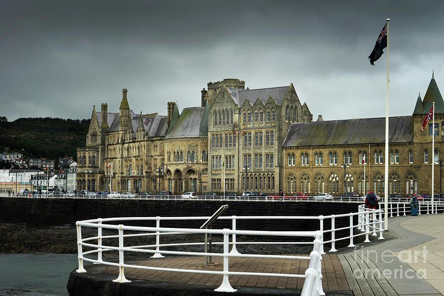 Aberystwyth Seafront by Ann Garrett