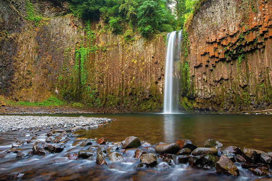 Abiqua Falls by Patrick Campbell