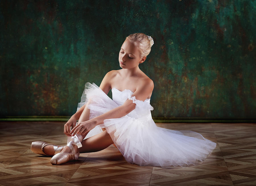 Portrait Photograph - About Ballet by Alina Lankina