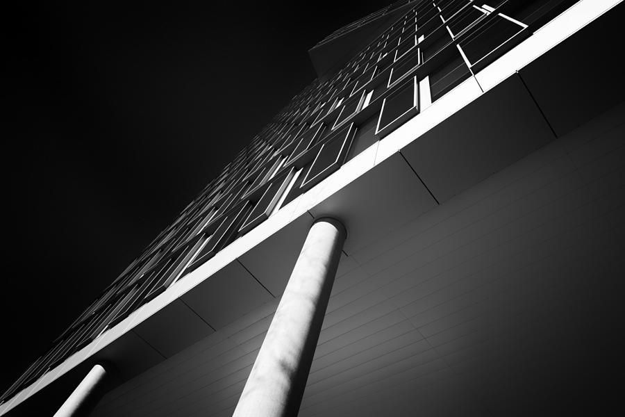 Architecture Photograph - Above And Below by Jeroen Van De Wiel