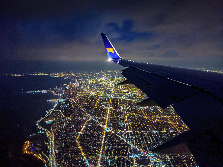 Above Chicago by Randy Scherkenbach