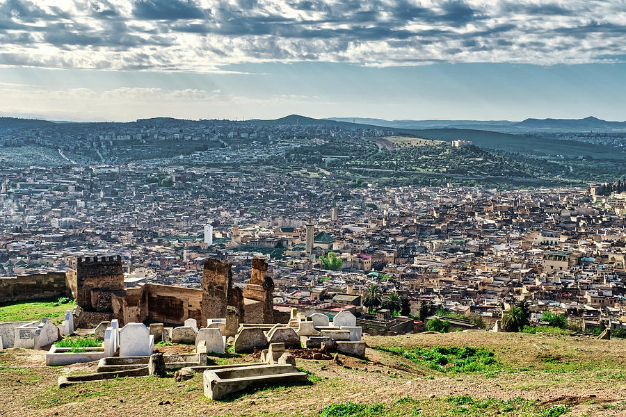 Above Fes - Morocco by Stuart Litoff