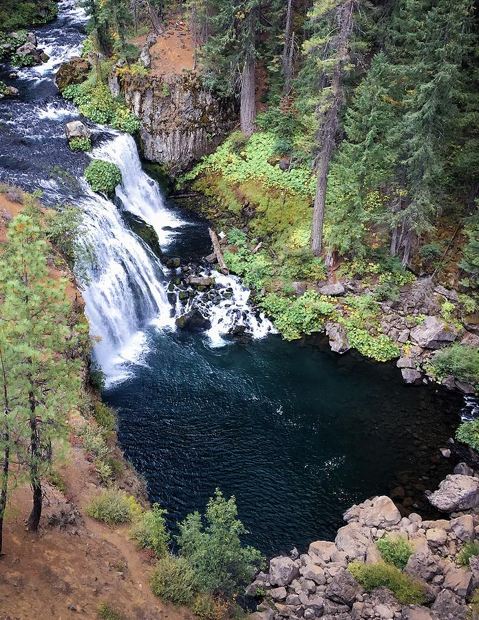 Above Middle Falls, McCloud River by Patrick Cosgrove