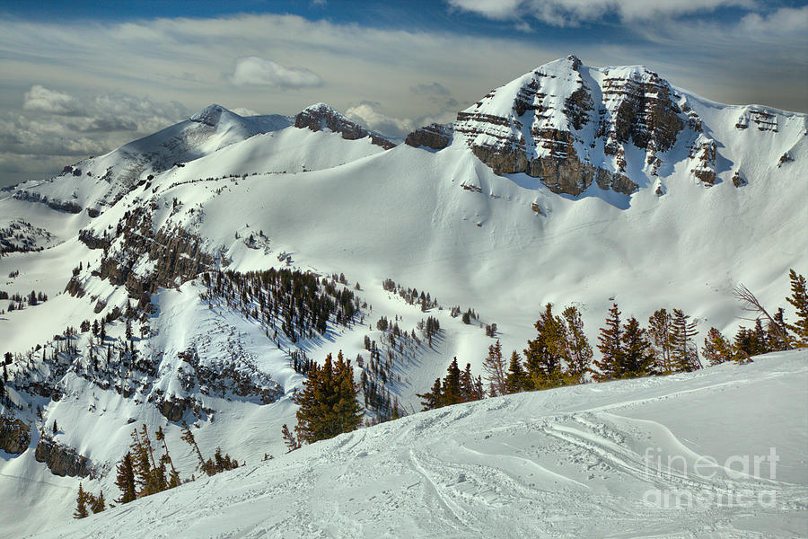 Above Rendezvous Bowl by Adam Jewell