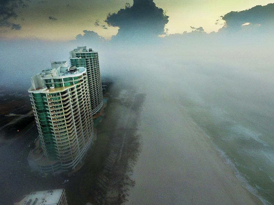 Above the Fog at Turquoise Place by Michael Thomas