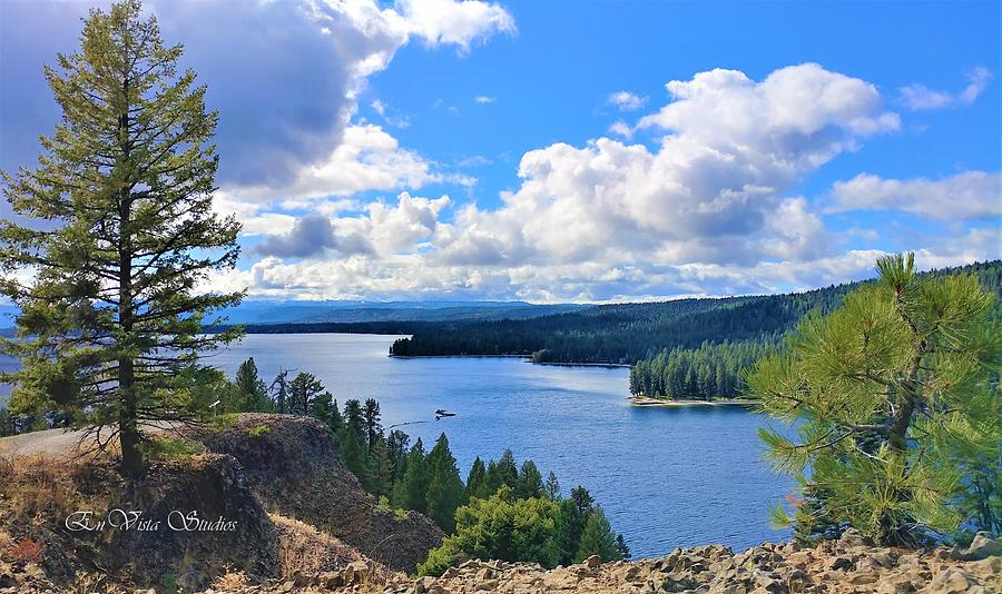 Payette Photograph - Above the Waters by EnVista Photo Studios