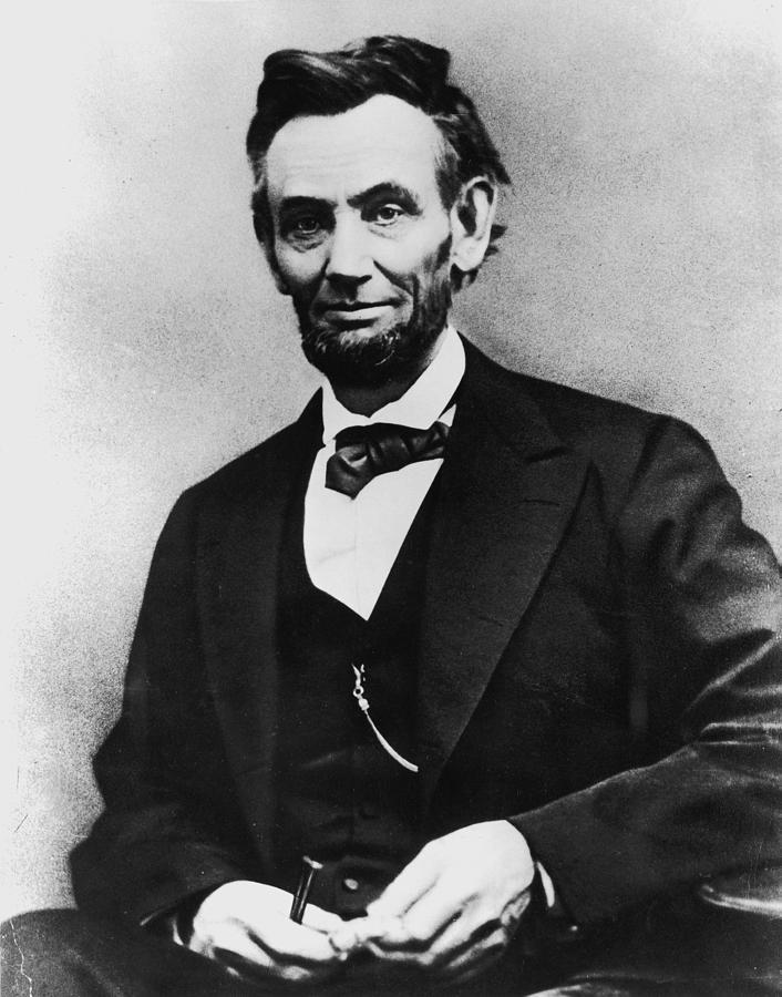 Abraham Lincoln Portrait Photograph by Alexander Gardner