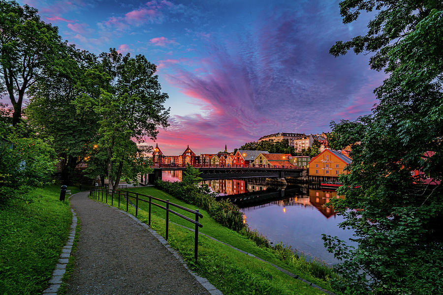 Absolutely amazing clouds over Trondheim   by Aziz Nasuti
