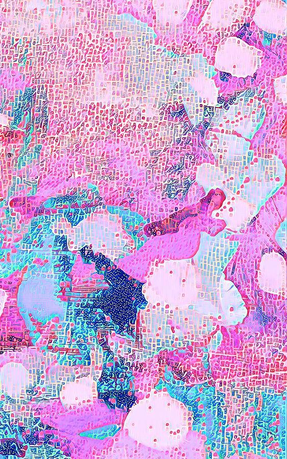 Color Mixed Media - Abstract 18 by Vanessa Katz