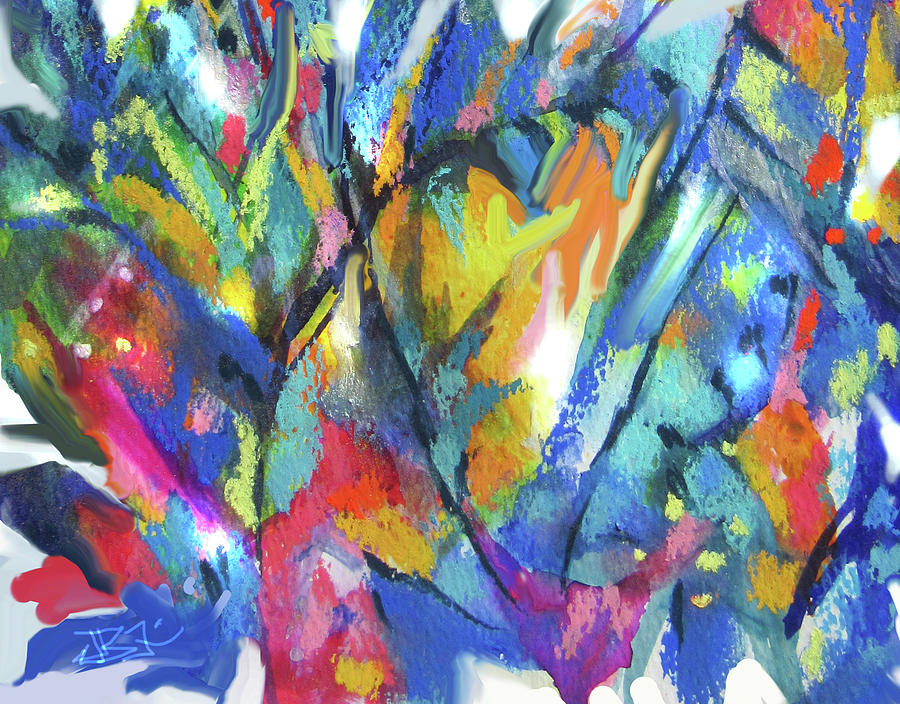 Abstract 510-Detail by Jean Batzell Fitzgerald