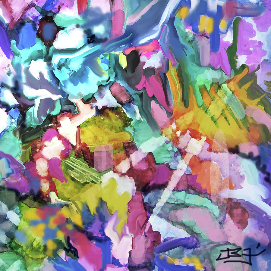 Abstract 518 Detail by Jean Batzell Fitzgerald