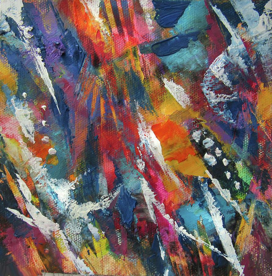 Abstract 619-19B by Jean Batzell Fitzgerald