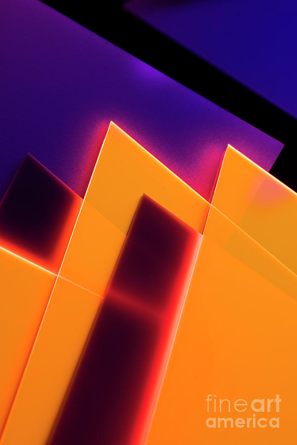 Abstract Acrylic Structures Photograph by Colormos