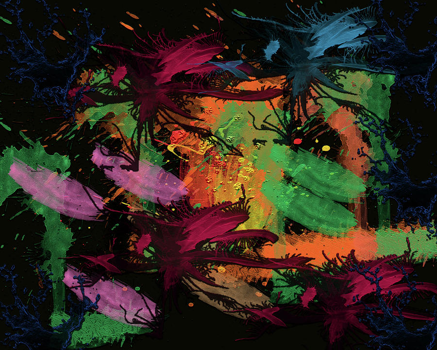 Abstract Action Series 01 by Carlos Diaz