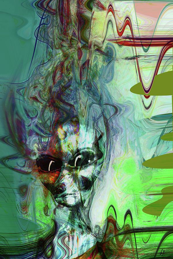 Abstract Alien by Linda Sannuti
