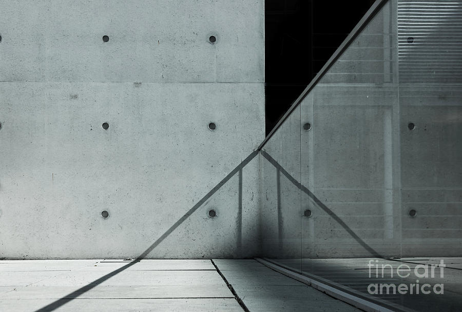 Steel Photograph - Abstract Architecture by Stockfotoart