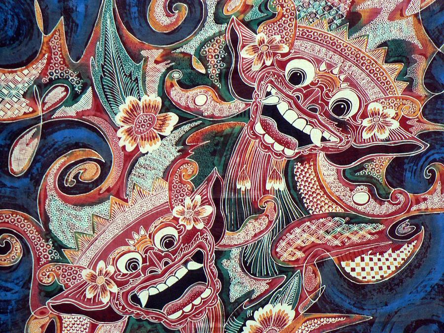 best sneakers 9f684 85ee0 Abstract Batik Bali Indonesia