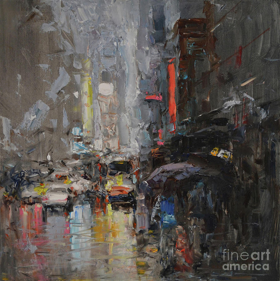 Abstract Cityscape #0062LP by Jack Jung