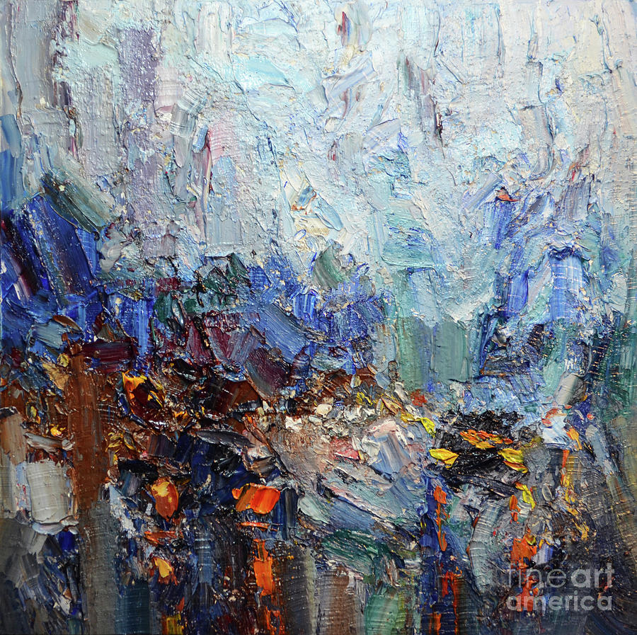 Abstract Cityscape #0090LP by Jack Jung
